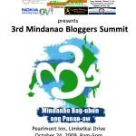 Mindanao Bloggers Summit 3: nearly 300 bloggers to converge, aim to help change the world's perception of Mindanao