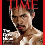 Manny Pacquiao back on the cover of TIME magazine