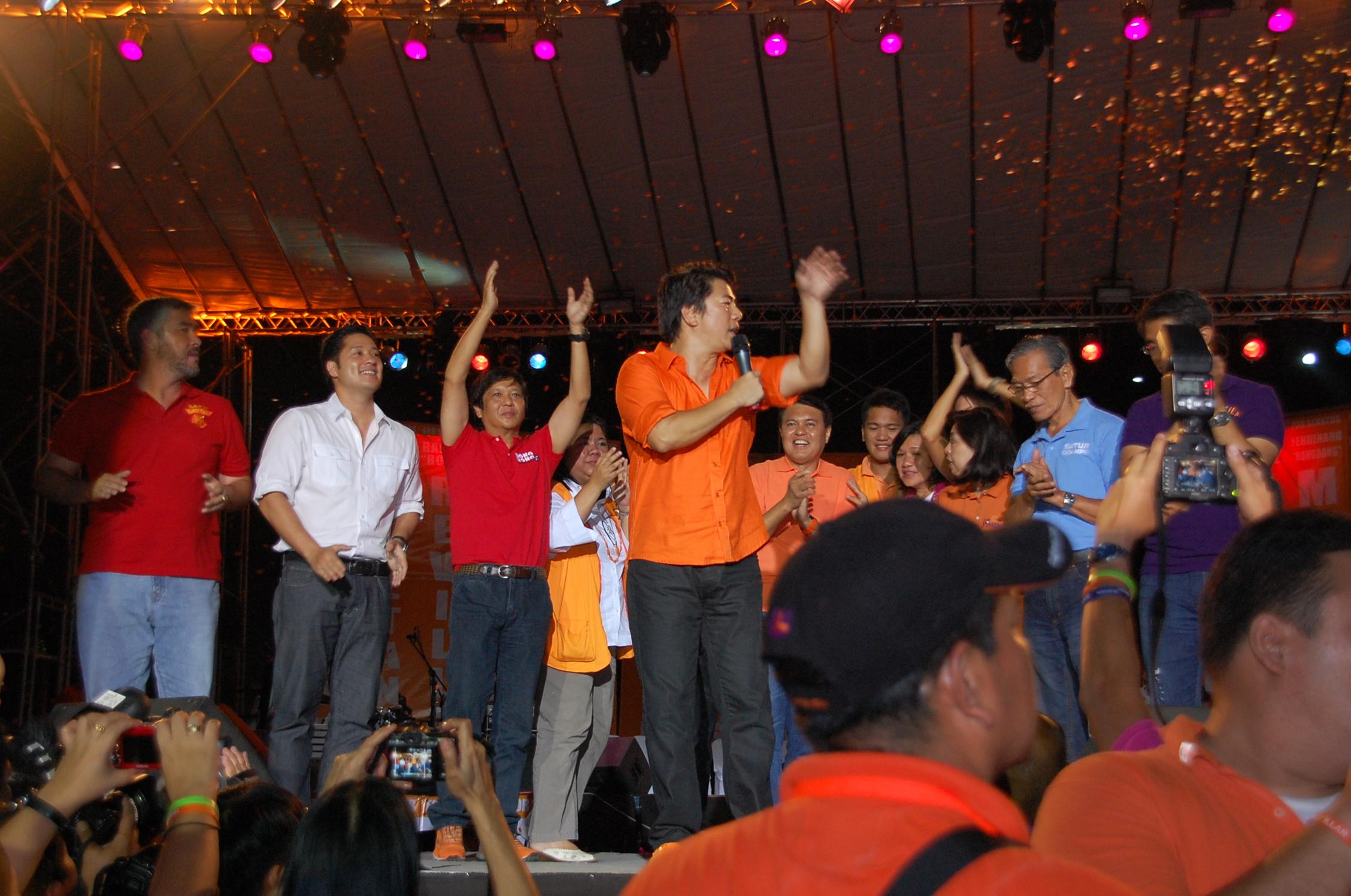 wowowillie nacionalista party cebu rally