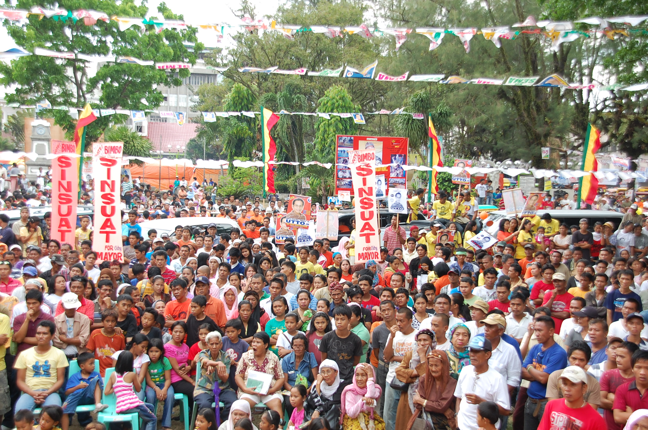 cotabato proclamation rally