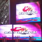 Watching GMA 7 longtime running show Eat Bulaga live in the studio
