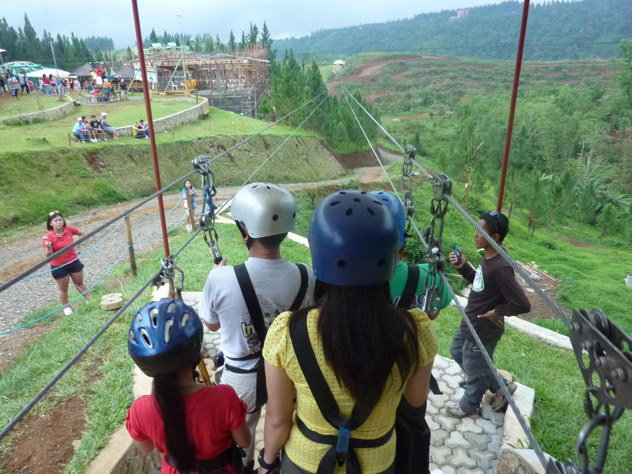 dahilayan adventure park bukidnon zipline