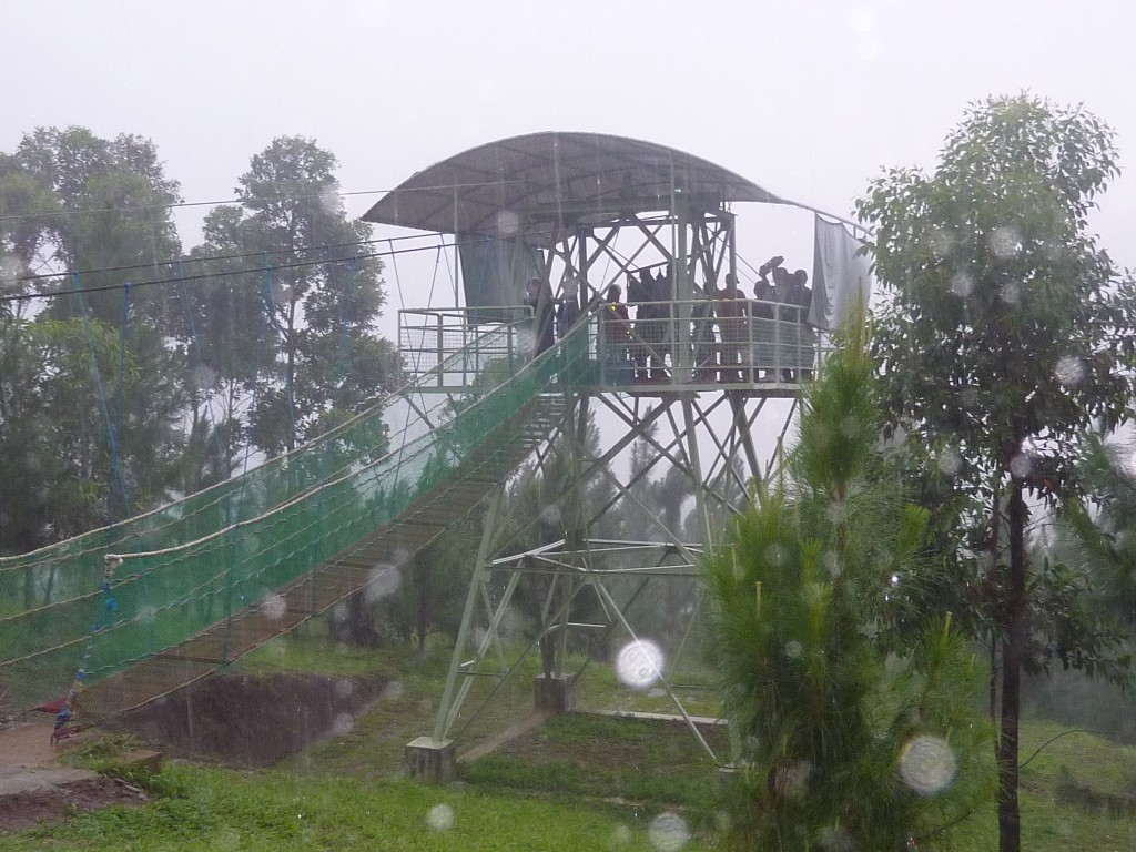 bukidnon zipline launch tower