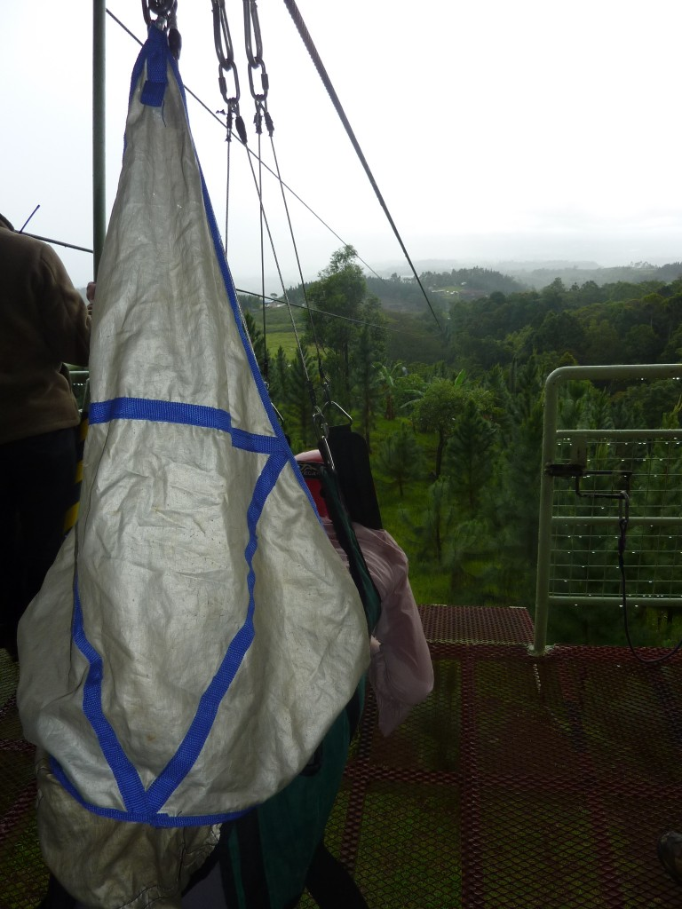 view from 840 meter zipline philippine extreme adventure