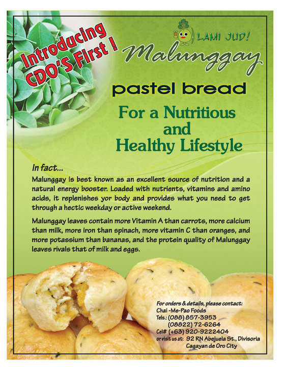 malunggay pastel mindanao food