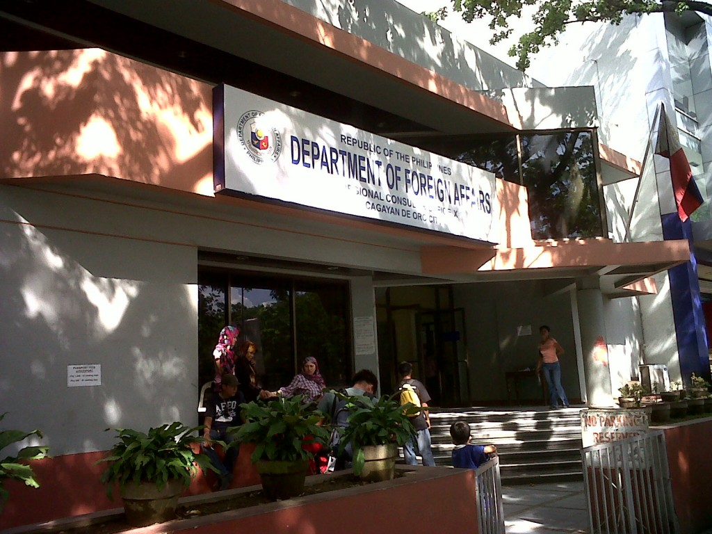 department of foreign affairs cagayan de oro northern mindanao