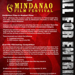 6th Mindanao Film Festival – a call for entries