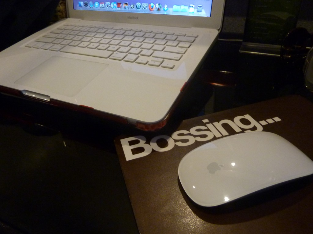 macbook meets magic mouse