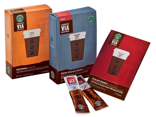 Starbucks CDO | Starbucks VIA Ready Brew Coffee