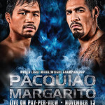 Pacquiao vs Margarito fight on November 13, 2010