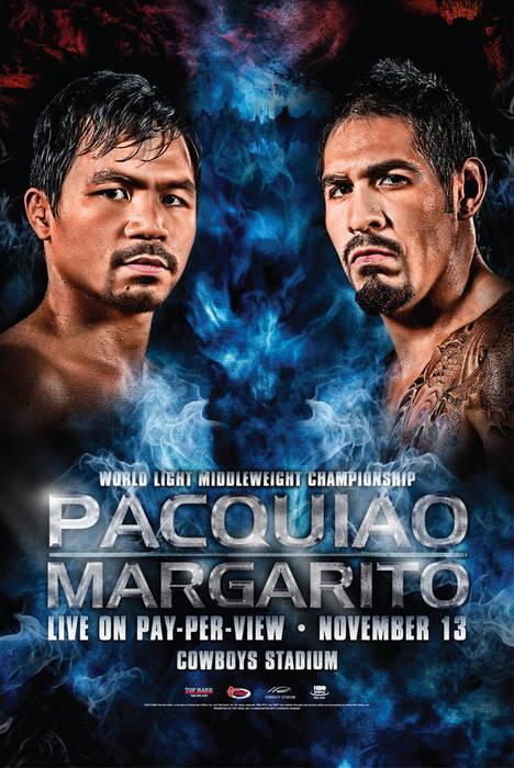 Pacquiao vs Margarito poster | www.Mindanaoan.com
