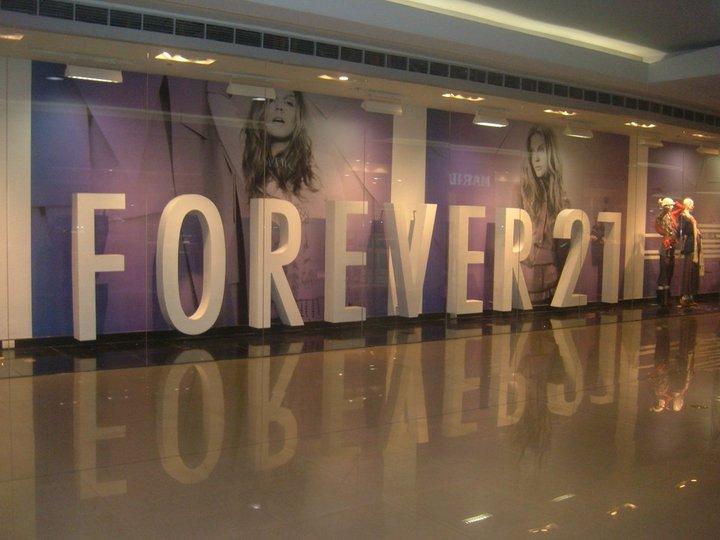Forever 21 Manila facade
