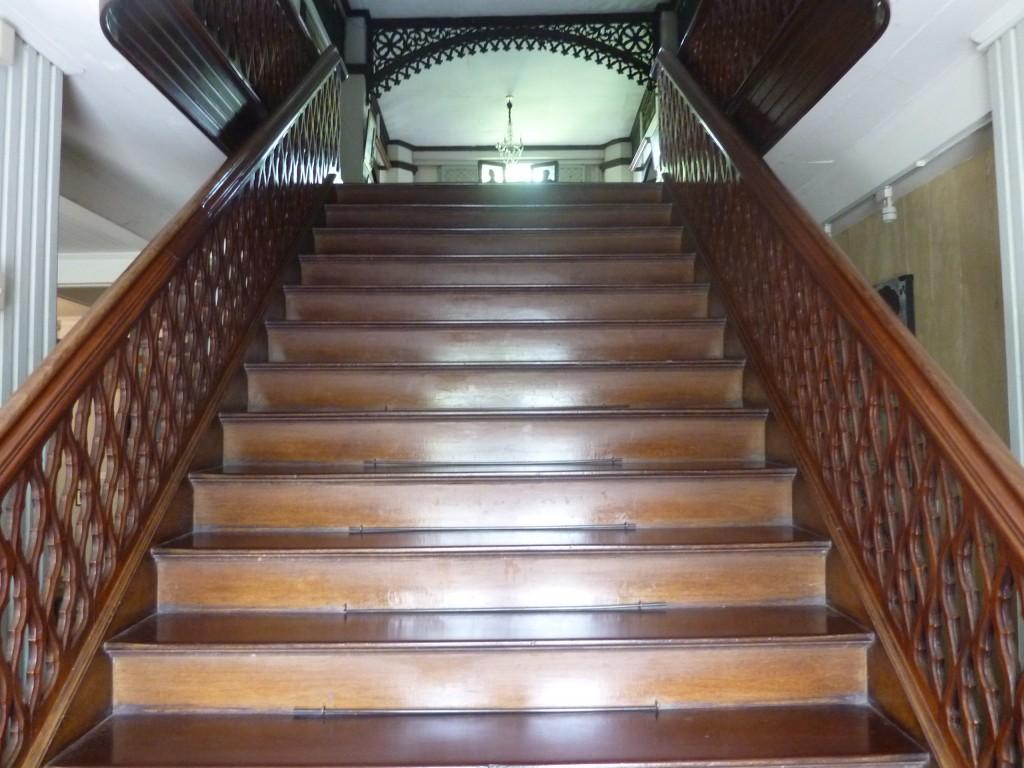 stairway at balay ni tana dicang
