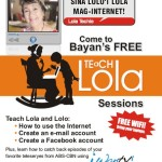 Meet Lola Techie at the Teach Lola event, NCCC Mall Davao City