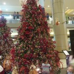 Giant christmas tree at SM City Cebu