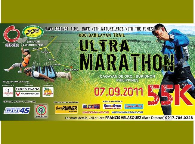 ultra marathon cdo dahilayan trail 55k