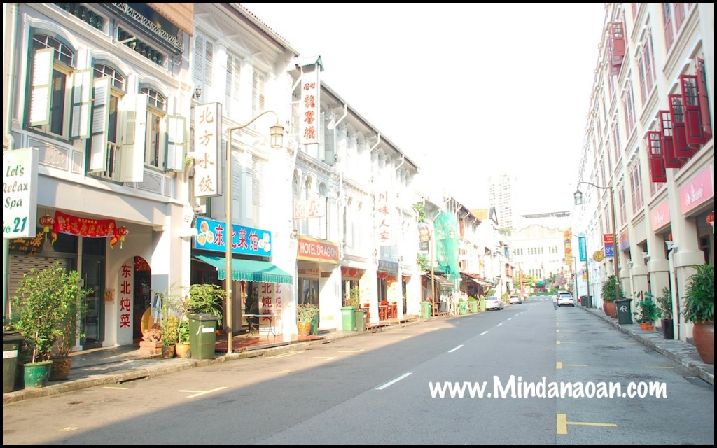 Mosque Street Chinatown Singapore