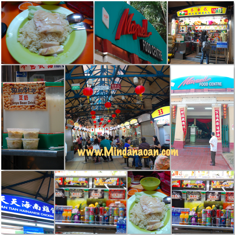 Maxwell Center Singapore hawker food