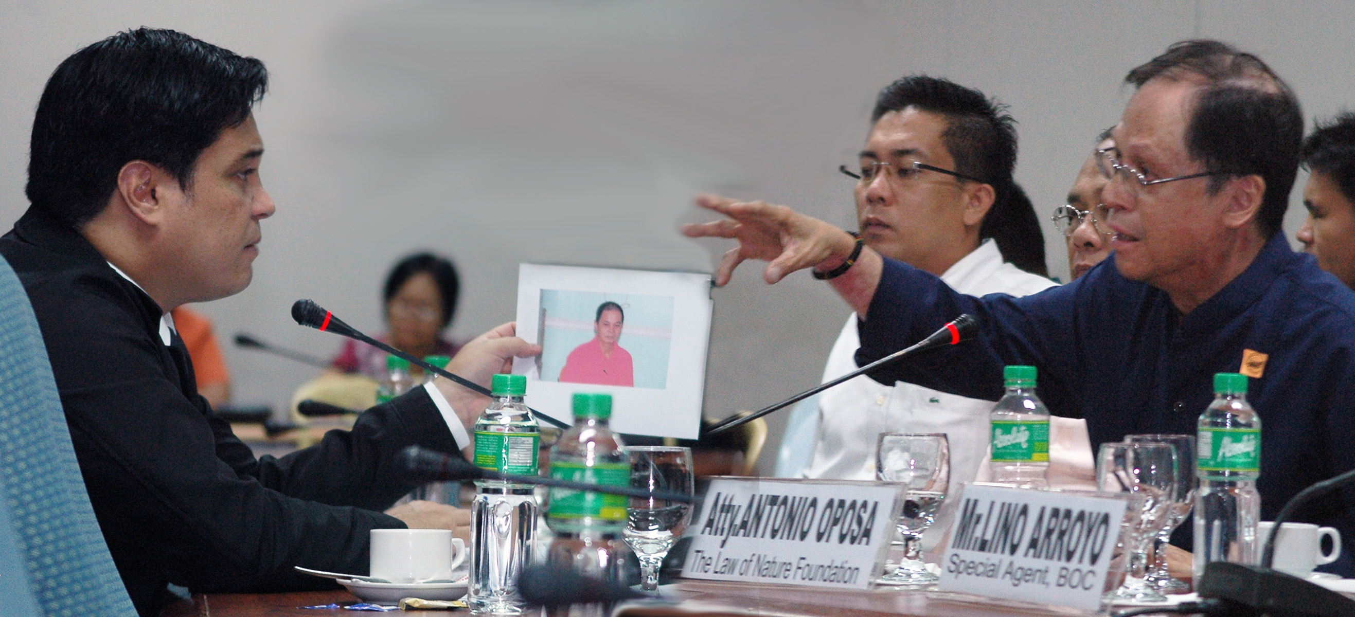Sen Juan Miguel Zubiri hearing