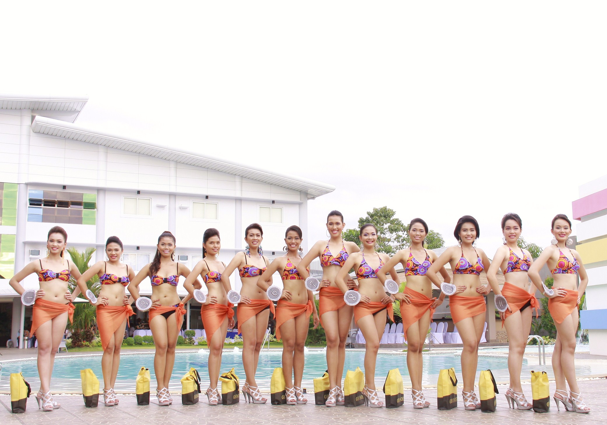 miss kagay-an festival 2011 candidates swimsuits