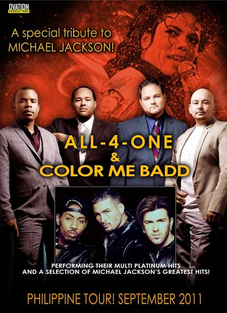 all 4 one and color me badd cagayan de oro mindanao