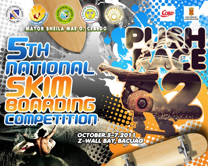 SURIGAO del norte national skimboarding competition
