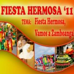 Zamboanga Hermosa Festival 2011 schedule of activities