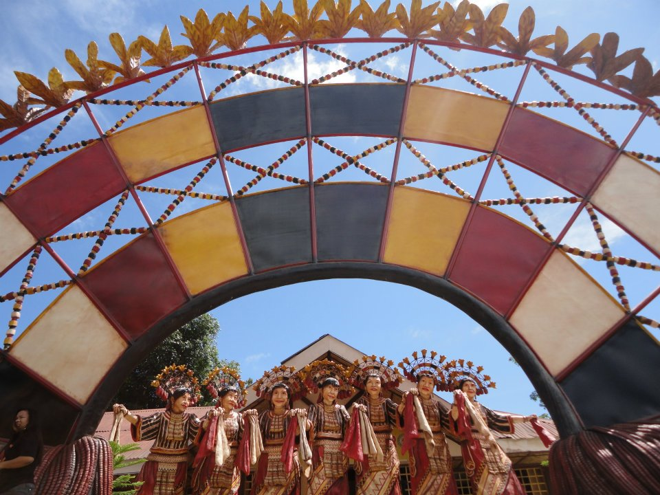 impasugong bukidnon giant statues and kaamulan headdress