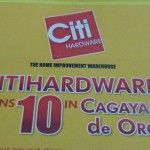 Managing the Citihardware 10th anniversary celebration in CDO