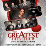 Win tickets to the Greatest Hits Tour Manila featuring a1, Jeff Timmons of 98 Degrees and Blue!