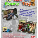 Want to donate toys for Typhoon Sendong kids?