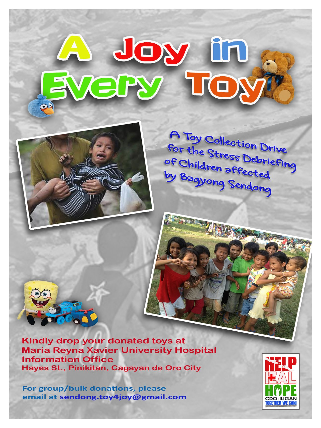 sendong toy for joy