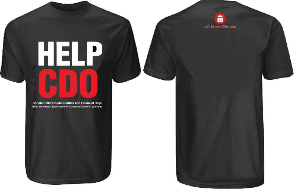 help cdo t-shirt