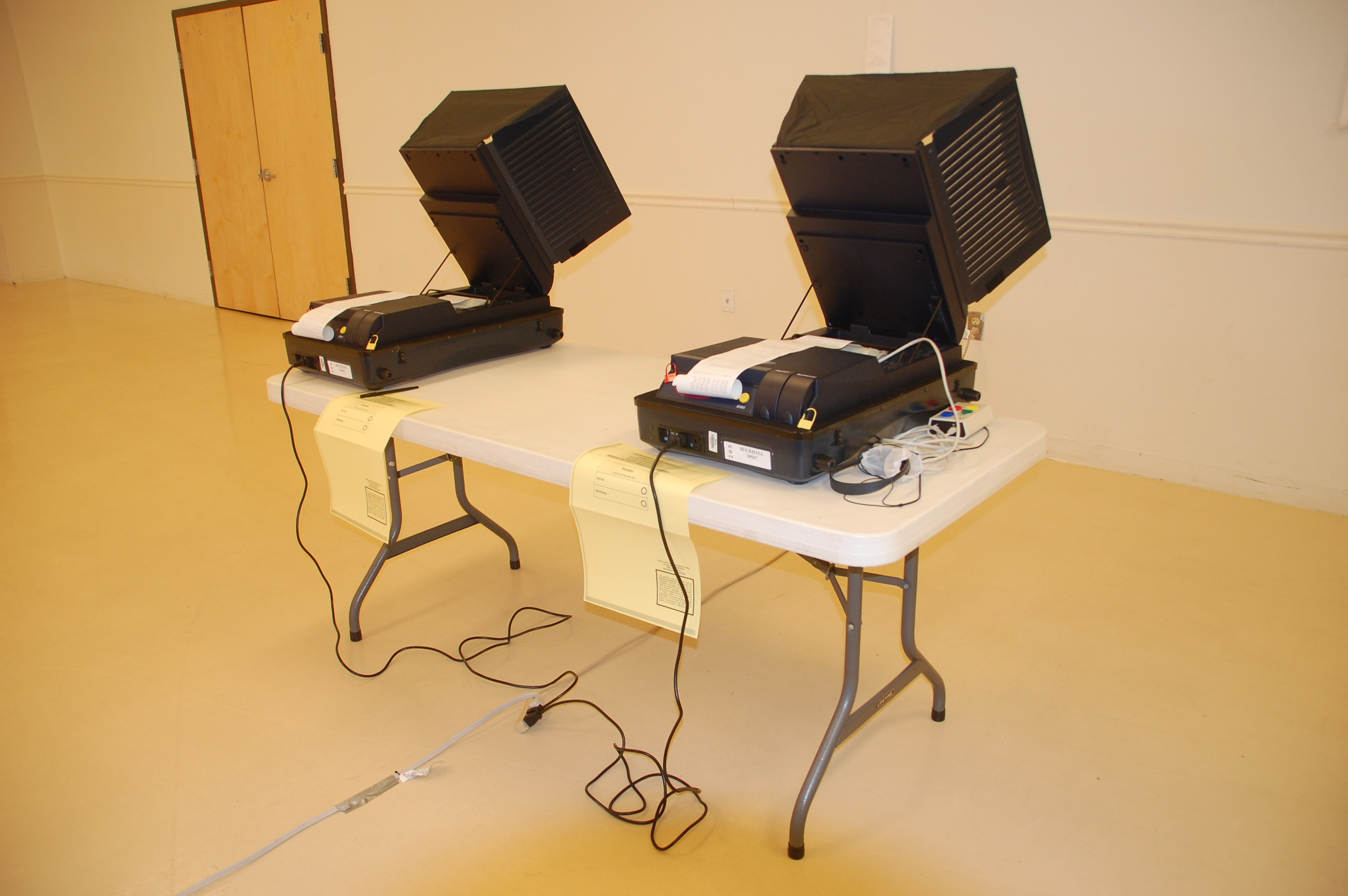 virginia usa election machines