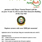 Ayala Mall Cagayan de Oro Centrio job fair