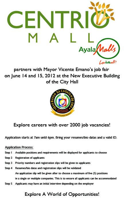 ayala-mall-centrio-job-fair