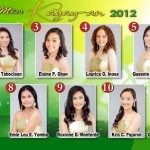 Miss Kagay-an 2012 candidates photos
