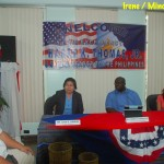 US Ambassador Harry Thomas, Jr. meets with Mindanaoan youth leaders