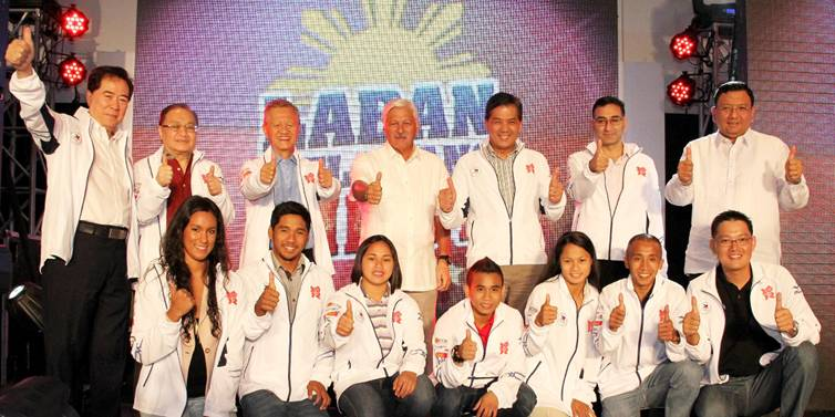 Team Philippines to the London Olympics 2012