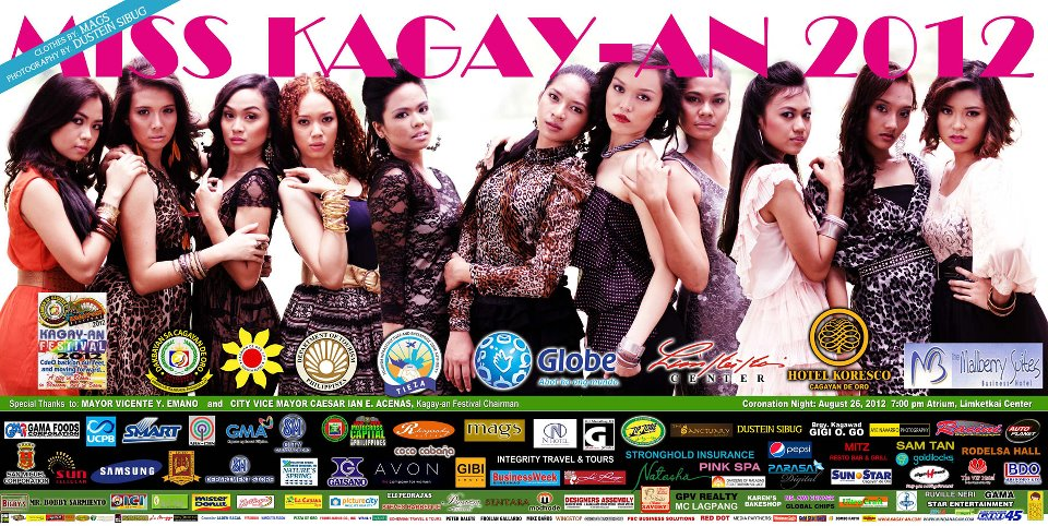Miss Kagay-an 2012 billboard