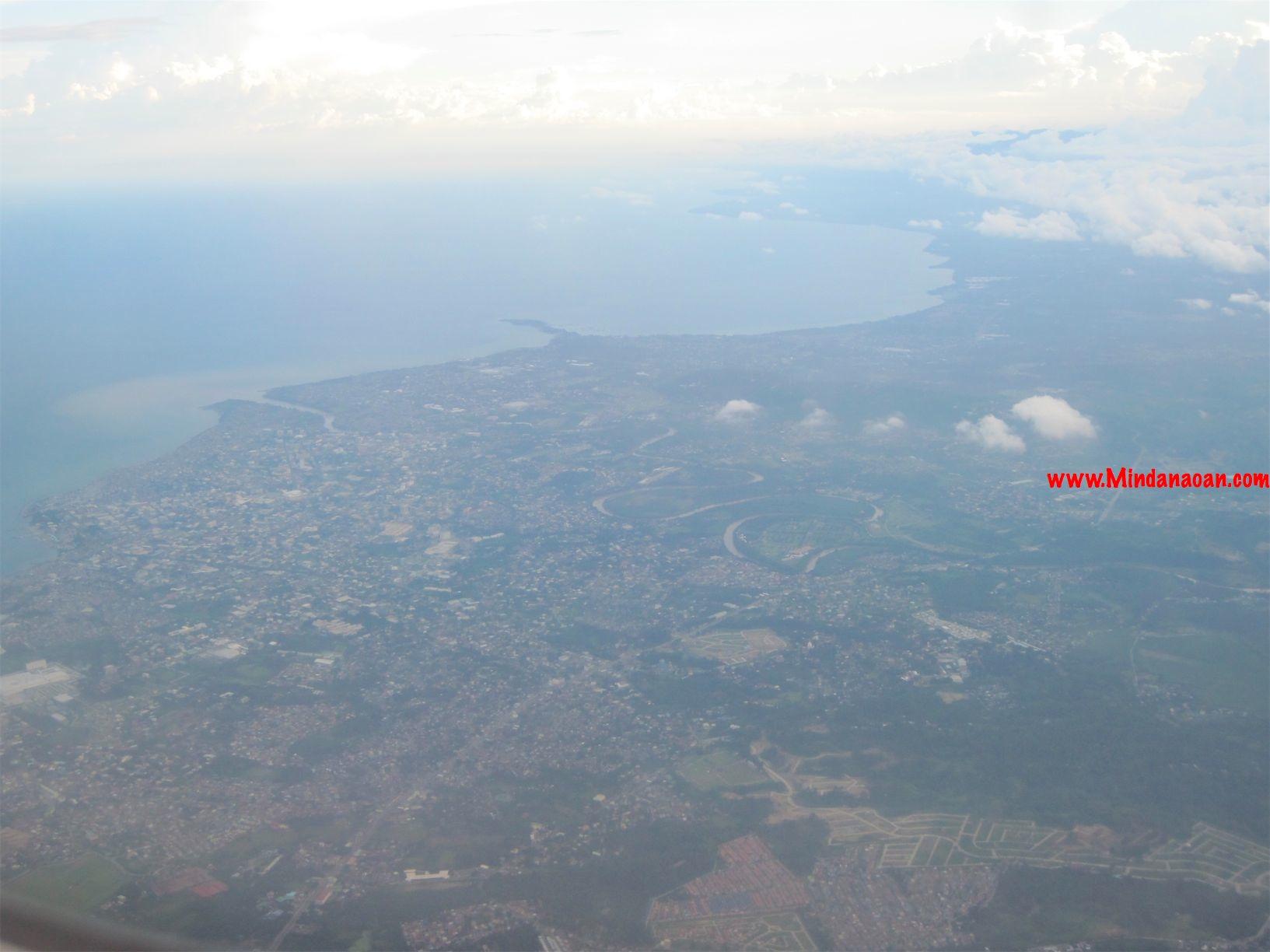 davao city from the sky