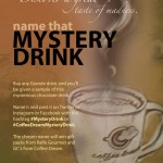 Coffee Dream Name That Mystery Drink Contest @CoffeeDreamCo