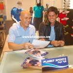 Photos: Rovilson Fernandez and Daniel Matsunaga at Planet Sports Centrio Mall