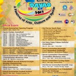 Davao Summerfest 2013 schedule of activities