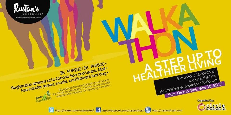 rustans-fresh-cdo-walkathon-poster