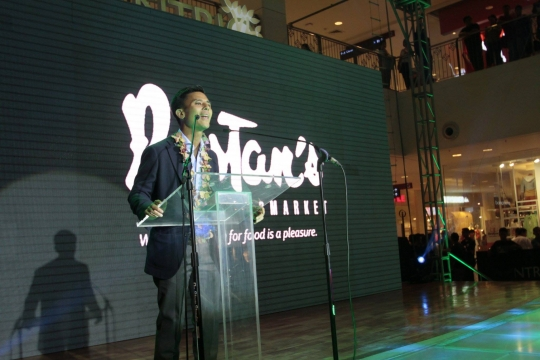 RSCI's CEO Donnie V. Tantoco at Rustan's CDO Opening