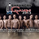 Judging at ABS CBN's Barangay Gwapo 2013