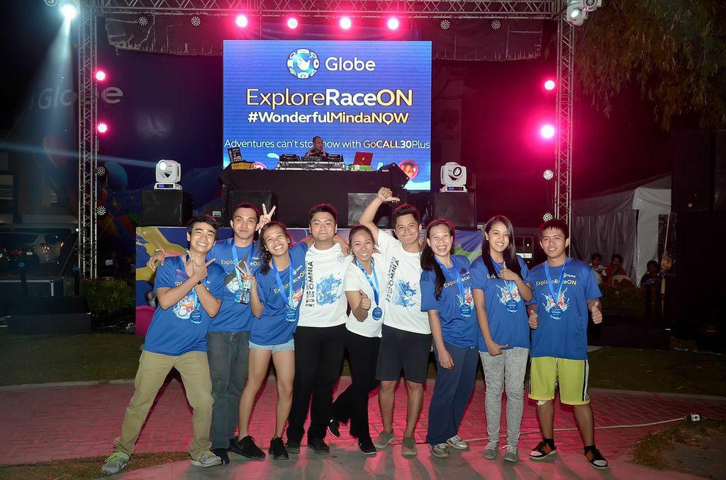 globe explore race cdo