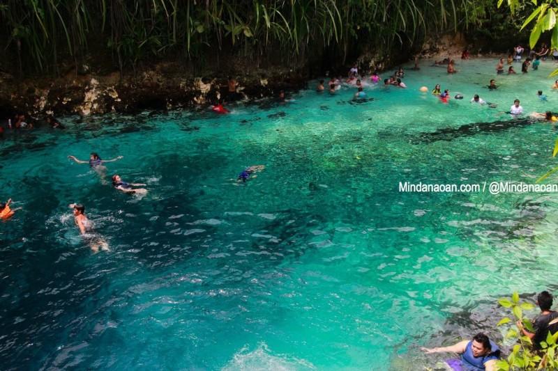 Enchanted River Surigao del Sur travel guide