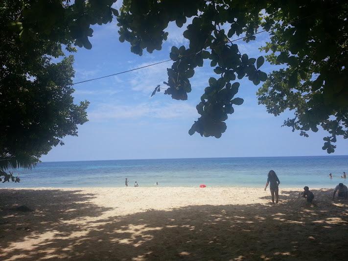 isidro white sand beach initao